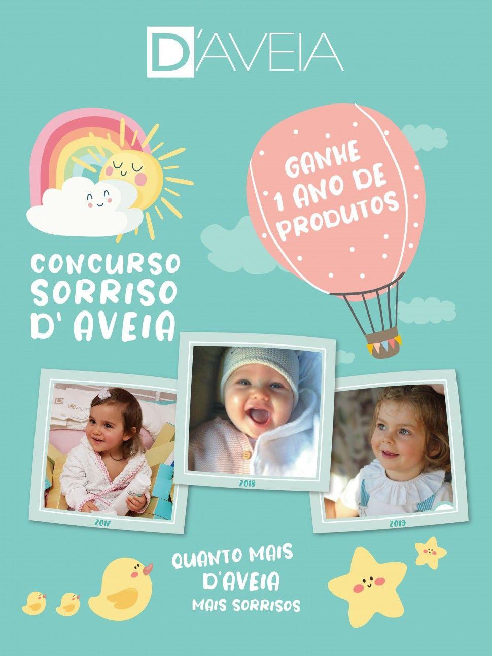 D'AVEIA apresenta o Concurso Sorriso D'AVEIA 2020!